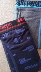 Mサイズ2枚組kaepa!ブランド品ソフトな肌触り!前開きあり!ボクサーブリーフ!