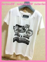 ☆ギルフィー☆新品美ライン♪バイクTシャツ☆