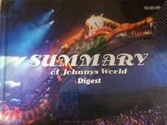 激レア☆NEWS.KAT-TUN.Kis-My-Ft/SUMMARY Web盤/DVD+写真集/美品