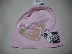 wb779 ROXY ロキシー ニット帽 ビーニー ピンク