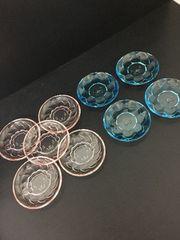 4895 ミスタードーナツ ガラス小皿 可愛い9枚セット ピンク