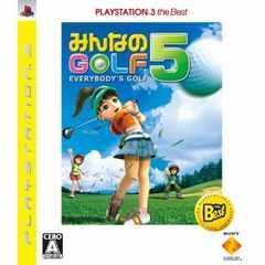 みんなのゴルフ5☆彡みんなで遊べるソフト♪即決です!