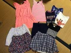 美品 まとめ売り ブランド キッズ Tシャツ スカート 130 10点