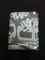 セール新品送込Timberlandティンバーランド★総柄ブラック三つ折財布カード入れ