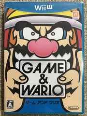 GAME & WARIO 新品未開封 WiiU ゲームアンドワリオ