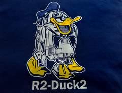 パロディMIX★【R2 Duck2】ブルー★Lサイズ★男女兼用