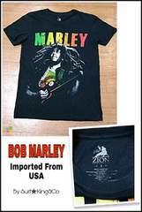 BOB MARLEY★REGGAE-T本物USA直輸入モデル!希少USED激安SALE!