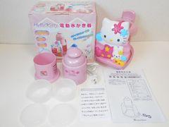 サンリオ★ハローキティ 電動氷かき器 DIS-516 ドウシシャ