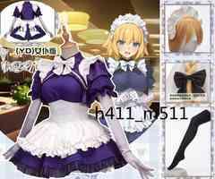 FateGrand Order ジャンヌ・ダルク メイド服 コスプレ衣装