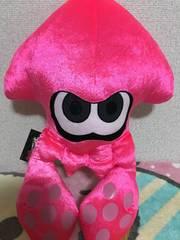 スプラトゥーン ♪ BIG ぬいぐるみ *【ピンク】