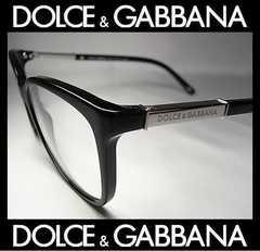 ドルガバ メガネフレーム ブラックXシルバー DG3107 501 確実本物 新品