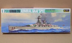 1/700 フジミ ドイツ海軍 ポケット戦艦 アドミラル グラフ シュペー