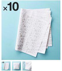 メルカリ梱包資材新品未使用10枚セットメルカリ引退の為出品デス