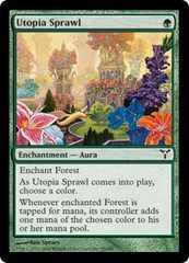 ●MTG DIS 楽園の拡散/Utopia Sprawl 英語 Foil 4枚●
