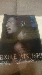 未開封 EXILE ATSUSHI 青い龍 クリアポスター