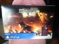 PS4本体 FF零式 HD 朱雀エディション 欠品有