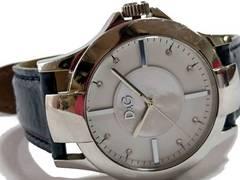 極美 1スタ予★ドルチェ&ガッバーナ/D&G ジルコニア 大型腕時計