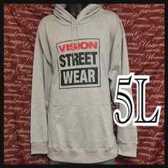 5L・VISION STREETWEAR・ストリートパーカー新品/MCS-9032