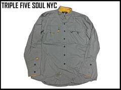 デッドスト90s20s 555ソールミリタリーシャツトリップファイヴソールストリートNYCBBOYヒップホッフ