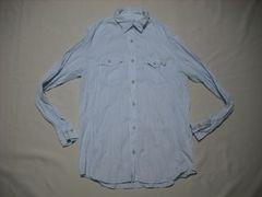 fy919 男 CK CALVIN KLEIN カルバンクライン チェックシャツ M