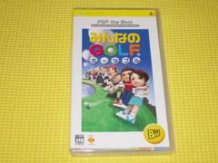 PSP★即決★みんなのGOLF ポータブル BEST★箱説付