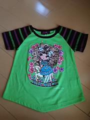 女の子変形半袖Tシャツ110cm