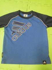 アディダスadidas青ブルーTシャツ120サイズclimalite