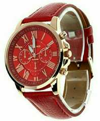 新品 ビッグサイズ 腕時計 ウォッチ レッド