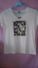 新品☆大きいサイズ☆4L 花柄 便利なTシャツ
