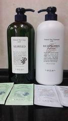 ルベル海藻&しっとりサラサラ米胚芽6048円1.6�`送500