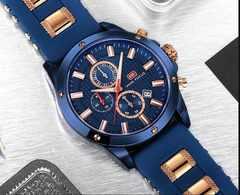 新作MINI FOCUS正規腕時計◆日本未発売ブルーベルトtype海外高級