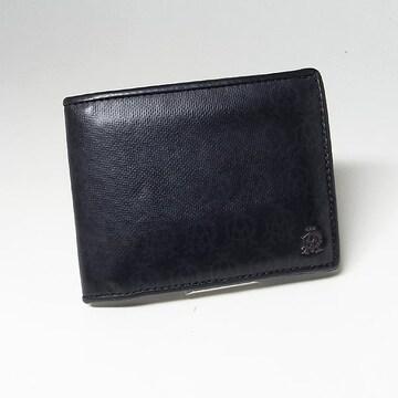 【ダンヒル/dunhill】コインポケット付き 2つ折り財布 ブ