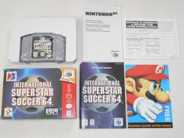 N64★INTERNATIONAL SUPERSTAR SOCCER 64 海外版