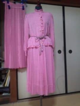 ピンクのパーティードレススカート2枚