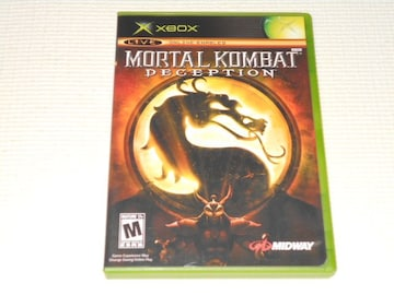 xbox★MORTAL KOMBAT DECEPTION 海外版