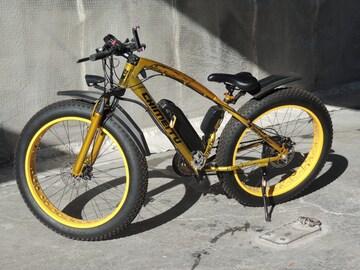 アシストロードバイクワイドタイヤ