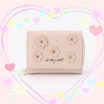 新品☆ロディスポット*フラワーカットミニ財布
