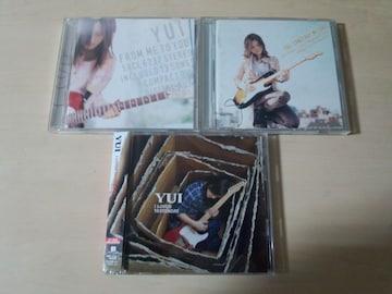 YUI CDアルバム3枚セット★1st〜3rd