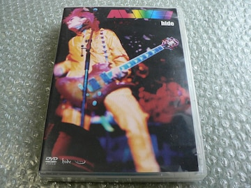 hide『ALIVE!』初回限定盤【3枚組DVD】特典付/X-JAPAN/他に出品