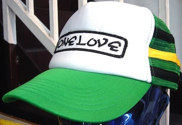 One Love Jamaica Cap ワンラブ ジャマイカ メッシュ キャップ