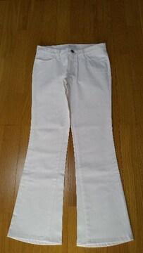 新品 ラストシーン 白パンツ きれいめパンツ M