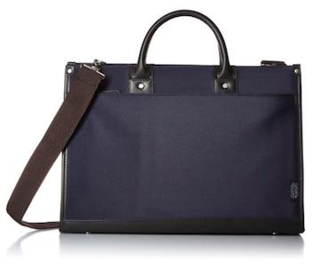 ビジネスバッグ A4サイズ ネイビー