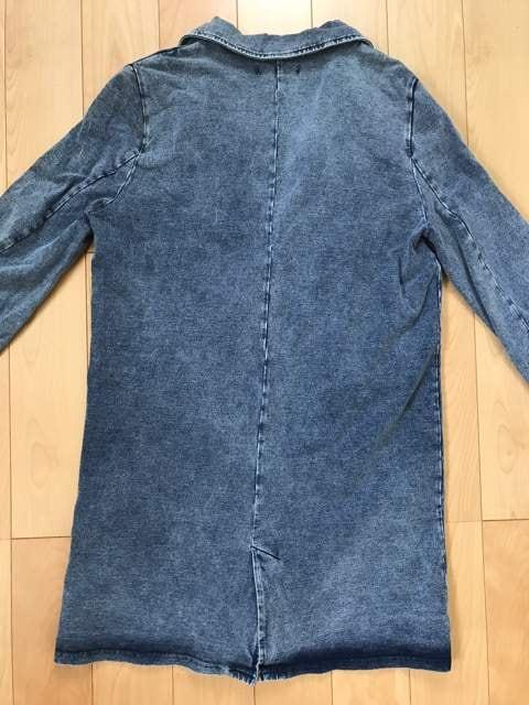 デニム風ジャケット < 女性ファッションの