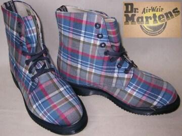ドクターマーチン 7ホール キャンバス ブーツ14351400BU
