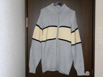 ★セーター ドッグシガー スカイブルー