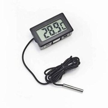 デジタル温度計 冷蔵庫サーモメーター アクアリウム //bz8
