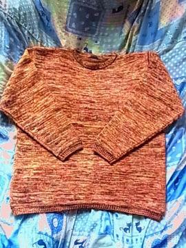 美品ワイズY'sフェアアイル ニット セーター ウール毛100%厚手