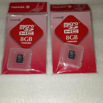 TOSHIBA SD-ME008GS 2個セット