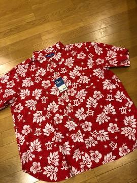 aitoz  ボタンダウンアロハシャツ size2XL位   5L