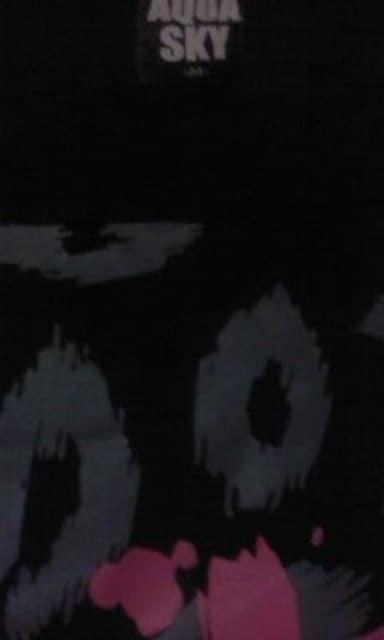 未使用AQUA SKY(アクアスカイ)ドルマン変形Tシャツワンピ < 女性ファッションの